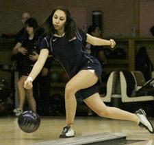 Brooklyn native Kristina Terpo has bowled St. Francis into the national rankings. Photo by Kyle Handoga – Ten Pin Photos