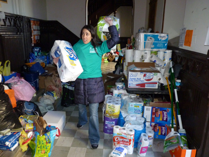 Brooklynites reach out to community affected by Sandy