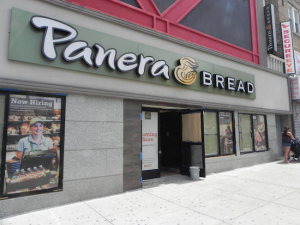 Panera Bread is getting set to open its third bakery-café in Brooklyn