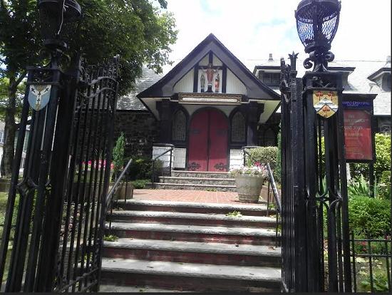 Historic St. John's Church in Fort Hamilton. Eagle Photo by Paula Katinas