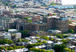 The Long Island College Hospital campus in Cobble Hill. Photo by Mary Frost
