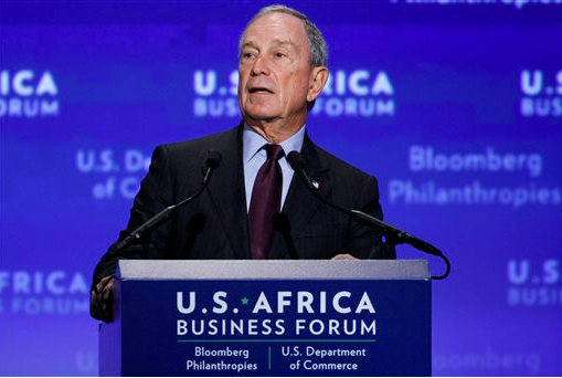Michael Bloomberg will provide funding for the Brooklyn Museum. AP photo