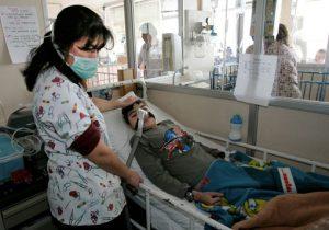 Rare enterovirus has hit kids in New York. AP photo