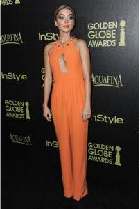 """Modern Family"" star Sarah Hyland celebrates her birthday today. AP photo"