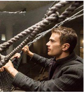 """Divergent"" star Theo James celebrates his birthday today. AP photo"