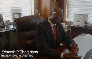 Brooklyn DA Kenneth Thompson. Eagle file YouTube screenshot