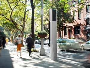 A vote on planned citywide Wi-Fi hotspots takes place on Wednesday. Rendering courtesy of CityBridge