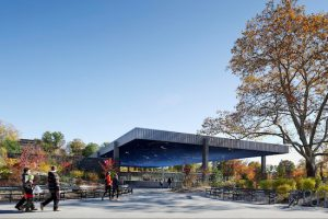 The Samuel J. and Ethel LeFrak Center at Lakeside in Prospect Park, selected from a pool of nearly 500 candidates, has won a 2015 Honor Award. Photo by Michael Moran/OTTO, courtesy of Prospect Park Alliance