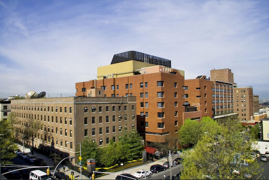 New York Methodist's current inpatient buildings. Photo courtesy of New York Methodist Hospital