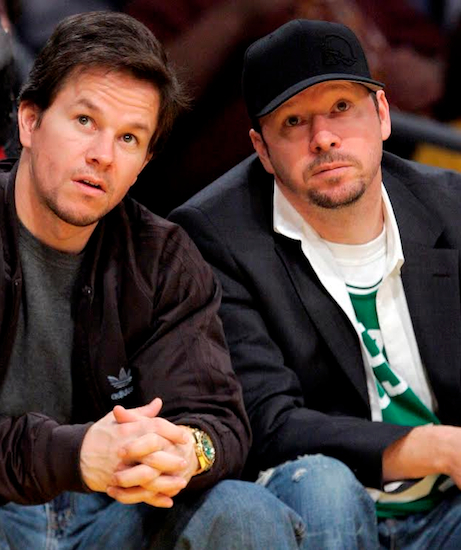 Wahlbergers, a franchise owned by Mark (l.) and Donnie Wahlberg, along with their chef brother Paul, is coming to Coney Island this spring. AP Photo/Mark J. Terrill