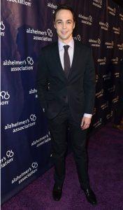 Actor Jim Parsons celebrates his birthday today. AP photo