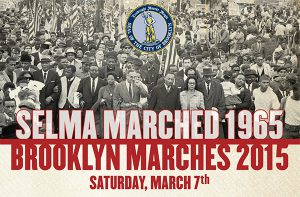 Brooklyn BP Eric Adams has announced a march over the Brooklyn Bridge to take place this Saturday.