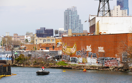 The area around the Gowanus Canal is a beautiful scene. The actual canal? Not so much. Eagle photo by Bernadett Laszlo