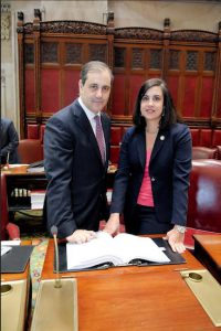 State Sen. Andrew Lanza and Assemblymember Nicole Malliotakis are combining their efforts to provide better protection for animals. Photo courtesy Malliotakis's office