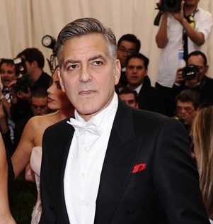 Actor George Clooney celebrates his birthday today. Photo by Charles Sykes/Invision/AP