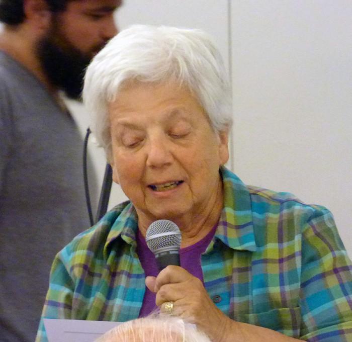 Cobble Hill member Laurie Maurer.