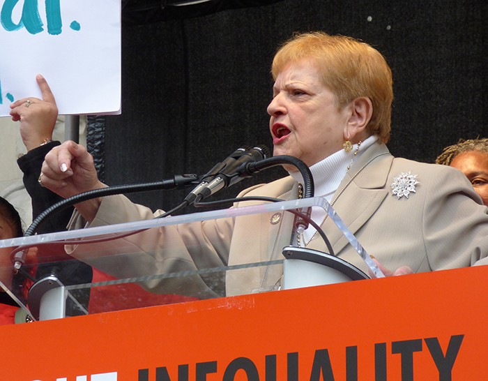 Bronx Assemblymember Carmen Arroyo. Photo by Mary Frost