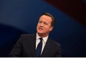 British Prime Minister David Cameron celebrates his birthday today. AP Photo/Jon Super