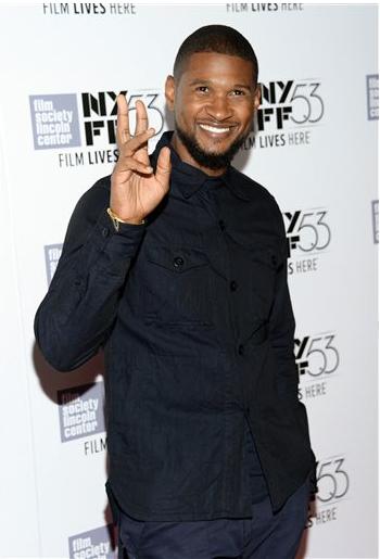 Singer Usher celebrates his birthday today.
