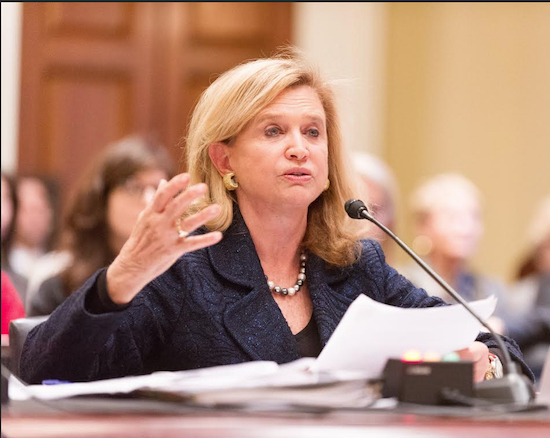U.S. Rep. Carolyn Maloney says the Zadroga Act should be permanent. Photo courtesy of Maloney's office