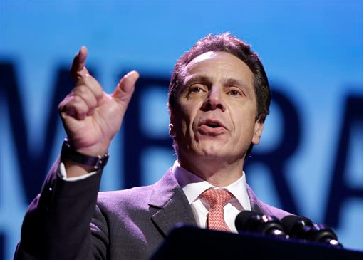 Gov. Andrew Cuomo signed a Marty Golden-sponsored bill protecting an EMS anti-assault bill into law. AP Photo/Seth Wenig