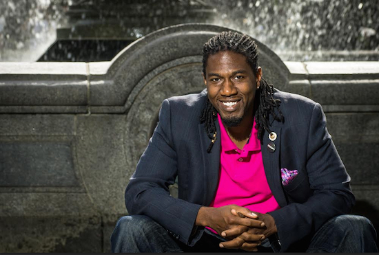 Councilmember Jumaane Williams told the Brooklyn Eagle that he once dreamed of becoming an actor. Photo courtesy of Williams' office