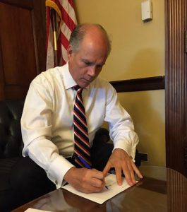 U.S. Rep. Dan Donovan has hit the ground running with his subcommittee on terrorism. Photo courtesy of Donovan's office