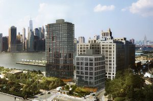 The controversial Pier 6 two-tower project is unnecessary, according to two reports released by community groups on Monday. Brooklyn Bridge Park disagrees with these findings. Rendering courtesy of ODA-RAL Development Services -- Oliver's Realty Group