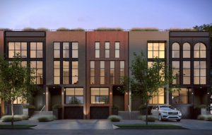 This is the developer's vision for the King & Sullivan Red Hook Townhomes. Image courtesy of Patty LaRocco of Douglas Elliman