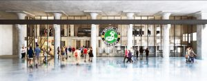 Brooklyn Brewery is expanding its operations and building a new brewery, headquarters and rooftop restaurant and beer garden at the Brooklyn Navy Yard's Building 77. Renderings by Davis Brody Bond
