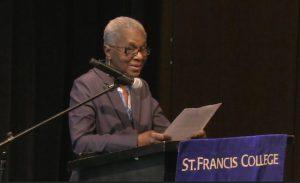 Doris Douglas. Photo courtesy of St. Francis College
