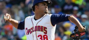Right-hander Merandy Gonzalez lasted only two innings Wednesday night at Staten College, forcing Brooklyn to once again put the game in the hands of its overworked bullpen. Photo courtesy of Brooklyn Cyclones