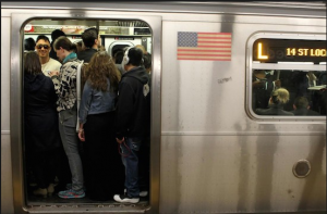 The L train forum will be held this Tuesday. AP file photo