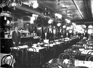 Gone but not forgotten: Here's beloved Downtown Brooklyn restaurant Gage & Tollner in an undated photo. Photo courtesy of the Edward Dewey estate