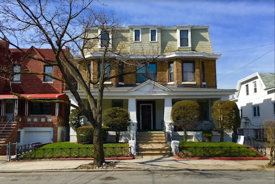 The grand old house at 8807 Avenue B (center of photo) in Remsen Village is a fine sight to see. Eagle photos by Lore Crogh