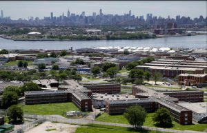 Mayor Bill de Blasio is asking supporters of his re-election bid to sign a petition to support his plan to close Rikers Island. AP Photo/Seth Wenig, File
