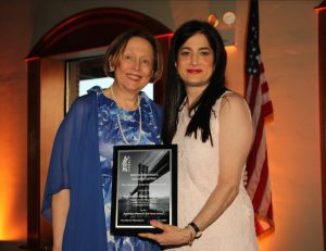 The Brooklyn Women's Bar Association and its President Sara Gozo honored two during the 99th annual dinner including Hon. Nancy T. Sunshine (right). Eagle photos by Mario Belluomo