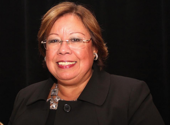 NYC Family Court Administrative Judge Jeanette Ruiz (pictured) and Chief Administrative Judge Lawrence K. Marks announced that the court has completed its conversion to digital court documents, which makes it the largest court in the state to do so. Eagle photo by Mario Belluomo