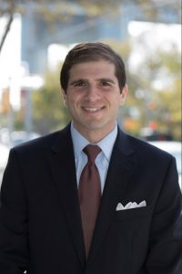 Democrat Andrew Gounardes says his campaign for the State Senate will include his proposals to fix the subway system and build new schools. Photo courtesy of Gounardes campaign