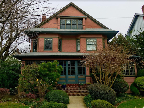 Homes in the Prospect Park South Historic District, including this one at 85 Argyle Road, are selling for a pretty penny. Eagle photos by Lore Croghan