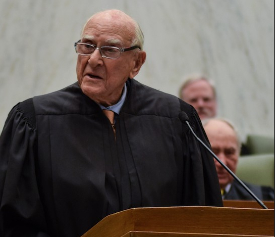 Hon. Jack B. Weinstein, U.S. District Court judge for the Eastern District of New York, ruled that a criminal defendant understood that a plea agreement would have left him open to deportation charges when he took it and refused to vacate his conviction. Eagle file photo by Rob Abruzzese