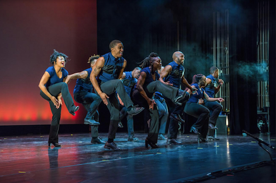 Step Afrika! at Brooklyn Center on April 28. Photo by Sekou Luke