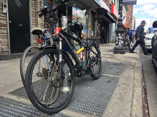 Two cyclists riding e-bikes have been killed so far this year. Eagle file photo.