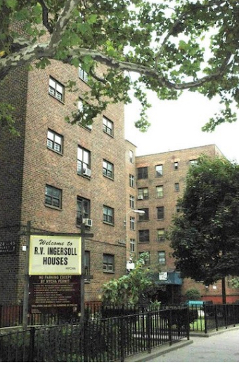 NYCHA's Ingersoll Houses in Downtown Brooklyn. Eagle file photo by Sarah Ryley