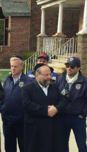 This 2015 file photo of Jacob Daskal, courtesy of Dov Hikind's office