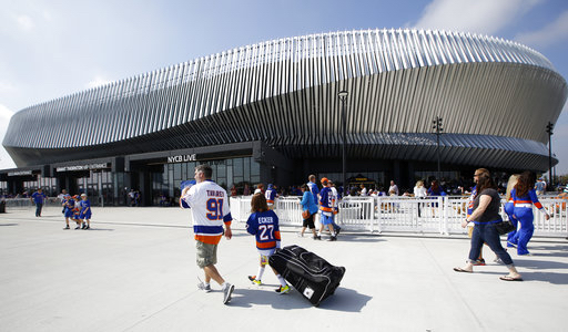 NYCB Live Nassau Coliseum in Uniondale, N.Y. AP Photo/Kathy Willens, File