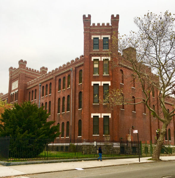 Marcy Armory is an architectural treasure.