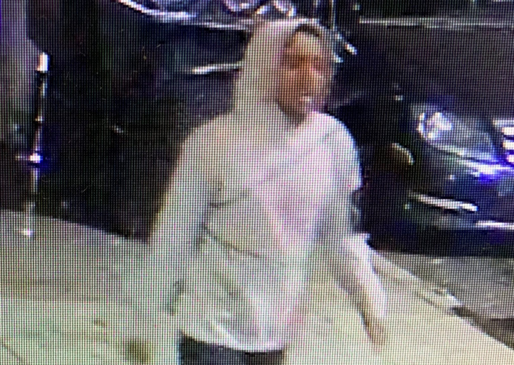 Still image of the suspect accused of hitting a 9-year-old believed to be a Hasidic Jewish boy on Nov. 25 in Williamsburg. Photo courtesy of the NYPD