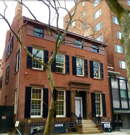 70 Willow St., where Truman Capote lived. Eagle file photo by Lore Croghan