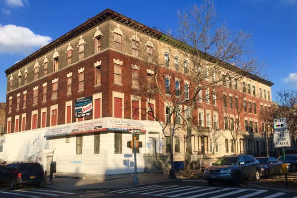 The building on the corner of Kingston Avenue is recently sold 907 Saint Marks Ave.